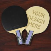 Engraved Ping Pong Paddle