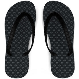Baseball Flip Flops Diamonds Are Forever