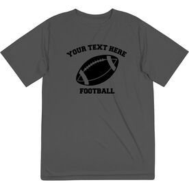 Football Short Sleeve Performance Tee - Custom Football