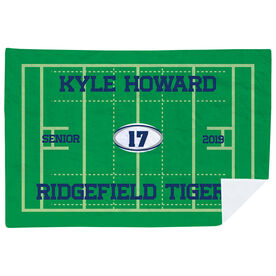 Rugby Premium Blanket - Personalized Rugby Senior