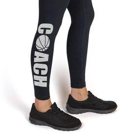 Basketball Leggings Coach with Basketball