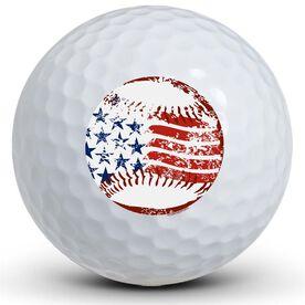 American Baseball Golf Balls