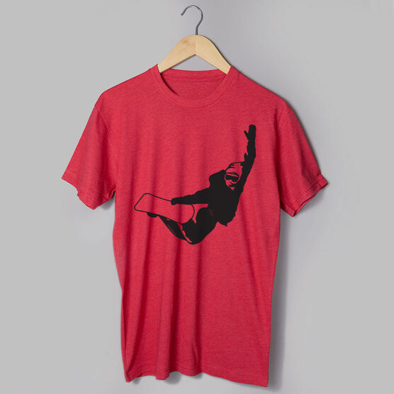 Snowboarding Short Sleeve T-Shirt - High Altitude