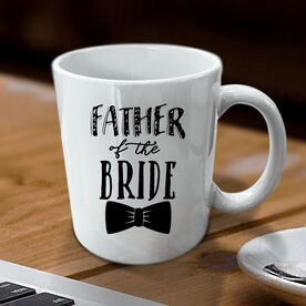 Father of the Bride Personalized Coffee Mug