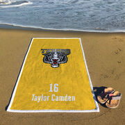 Baseball Premium Beach Towel - Custom Team Logo