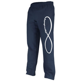 Figure Skating Fleece Sweatpants Infinity