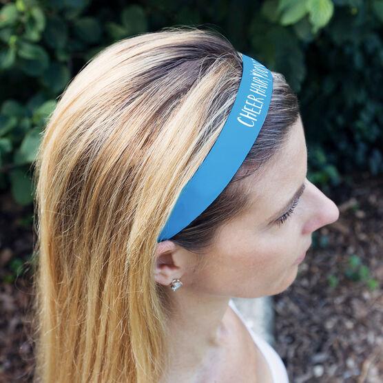 Cheerleading Julibands No-Slip Headbands - Cheer Hair Don't Care