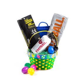 Eat Sleep Football Easter Basket 2019 Edition