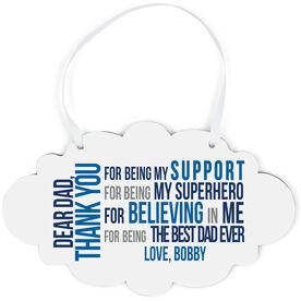 Cloud Sign - Dear Dad