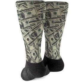 Guys Lacrosse Printed Mid-Calf Socks - Ben Laxer
