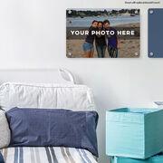 "Personalized 18"" X 12"" Aluminum Room Sign - Custom Photo Horizontal"