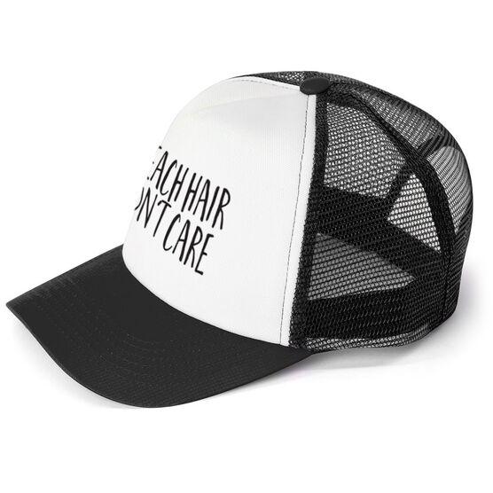 Personalized Trucker Hat - Hair Don't Care