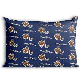 Seams Wild Hockey Pillowcase - Feather Shot (Pattern)