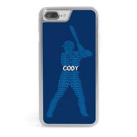 Baseball iPhone® Case - Personalized Baseball Words