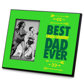 Cross Country Wood Frame Best Dad Ever
