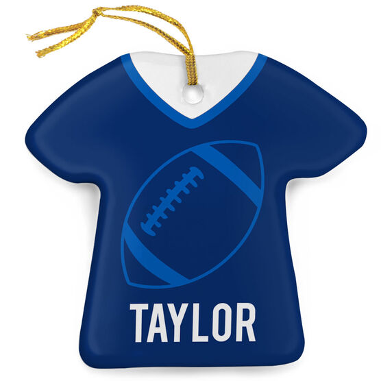 Football Porcelain Ornament That's My Jersey