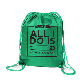 Wrestling Sport Pack Cinch Sack All I Do Is Pin