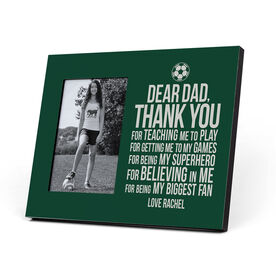 Soccer Photo Frame - Dear Dad