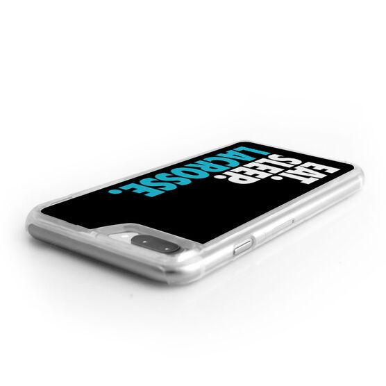 Lacrosse iPhone® Case - Eat. Sleep. Lacrosse.