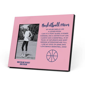 Basketball Photo Frame - Basketball Mom Poem