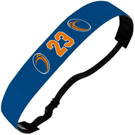 Rugby Julibands No-Slip Headbands - Ball Icons with Number