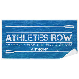 Crew Premium Beach Towel - Athletes Row
