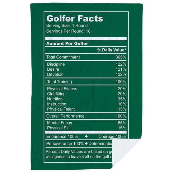 Golf Premium Blanket - Golfer Facts