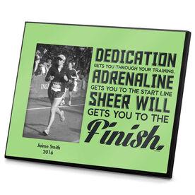 Running Photo Frame Dedication Gets You Through