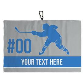 Hockey Skate Towel Hockey Player