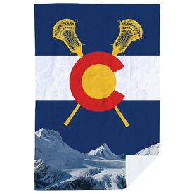 Guys Lacrosse Premium Blanket - Colorado Lacrosse