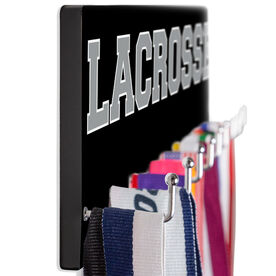 Lacrosse Hooked on Medals Hanger - Word