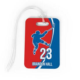 Hockey Bag/Luggage Tag - Personalized Hockey Slap Shot