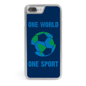 Soccer iPhone® Case - One World One Sport