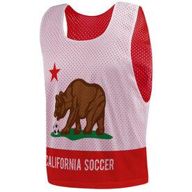 Soccer Pinnie - California Flag