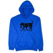 Soccer Hooded Sweatshirt - Soccer Dog