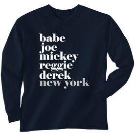 Baseball Long Sleeve Tee - FANtastic Bronx New York