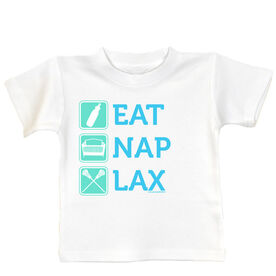 Baby T-shirt Eat Nap Lax