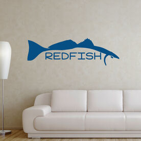 Fly Fishing Removable Wall Decal - Redfish