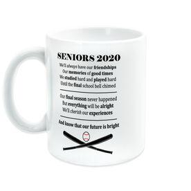 Baseball Coffee Mug - Seniors 2020 Our Future Is Bright