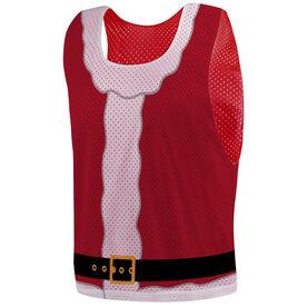 Guys Lacrosse Pinnie - Santa Suit