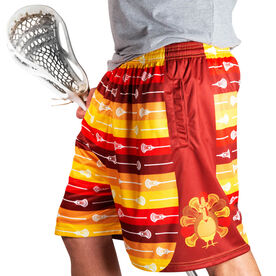 Lax Now Gobble Later Lacrosse Shorts