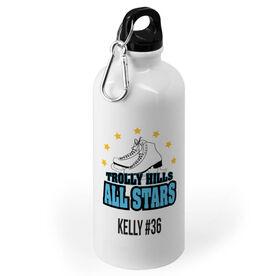 Figure Skating 20 oz. Stainless Steel Water Bottle - Custom Logo