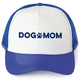 Personalized Trucker Hat - Dog Mom