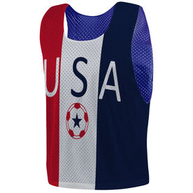 Soccer Pinnie - USA