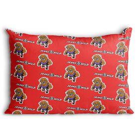 Seams Wild Wrestling Pillowcase - Herdya (Pattern)
