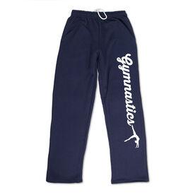 Gymnastics Fleece Sweatpants - Gymnastics Script