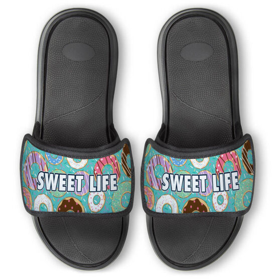 Personalized Repwell® Slide Sandals - Donuts