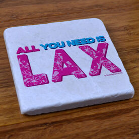 All You Need Is Lax - Natural Stone Coaster