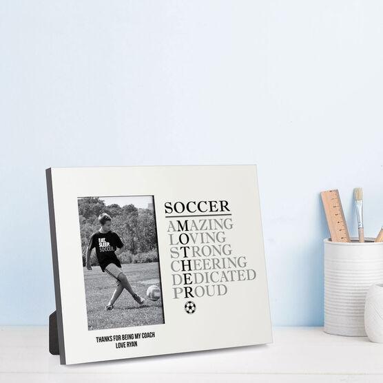 Soccer Photo Frame - Mother Words
