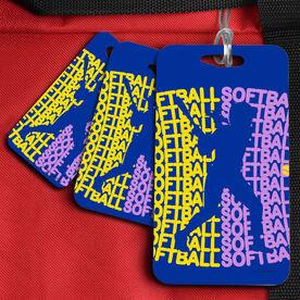 Softball Bag/Luggage Tag All Softball